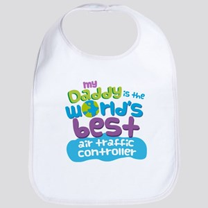 Air Traffic Controller Gifts For Kids Baby Bib