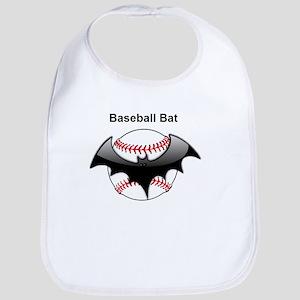 Halloween Baseball bat Bib