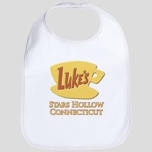 Luke's Diner Stars Hollow Gilmore Girls Bib