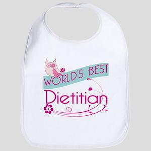 World's Best Dietitian Bib