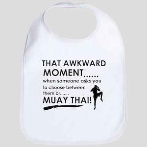 Cool Muay Thai designs Bib
