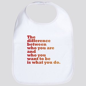 The Difference (red/orange) Bib