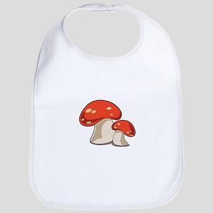 Mushrooms Bib