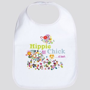 Hippie Chick at Heart Bib