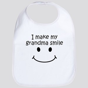 I Make My Grandma Smile Bib