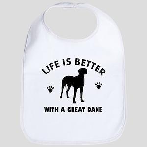 Great Dane breed Design Bib