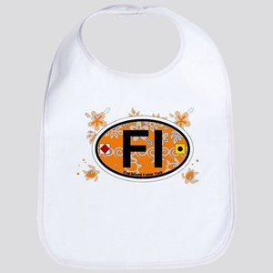 Fire Island - Oval Design Bib