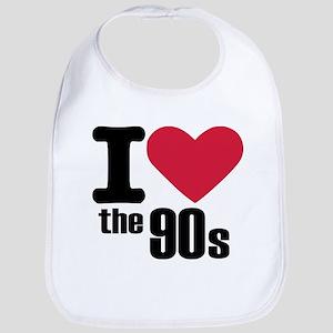 I love the 90's Bib