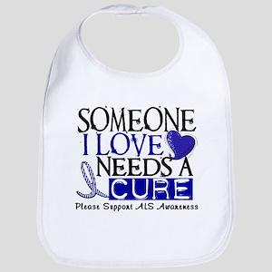 Needs A Cure ALS T-Shirts & Gifts Bib