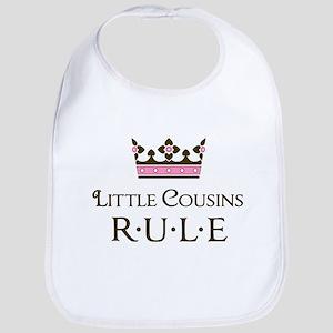 Little Cousins Rule Bib
