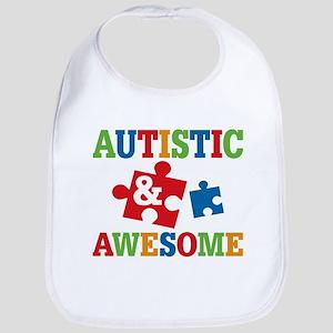 Autistic Awesome Bib