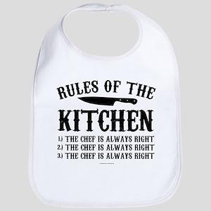 Rules of the Kitchen Bib