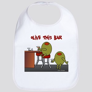 Olive This Bar Bib