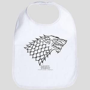 Game of Thrones House Stark Wolf Cotton Baby Bib