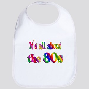 All About 80s Bib