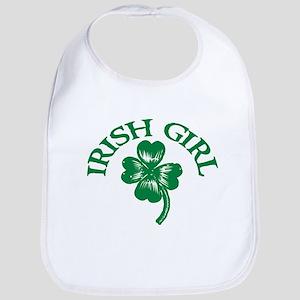 IRISH GIRL SHIRT ST. PATRICKS Bib
