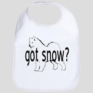 Samoyed- got snow? Bib