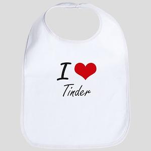 I love Tinder Bib