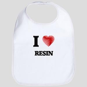 I Love Resin Bib