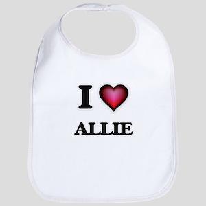 I Love Allie Bib