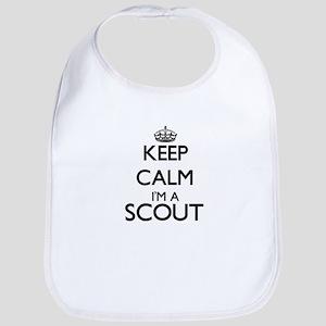 Keep calm I'm a Scout Bib