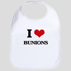 I Love Bunions Bib
