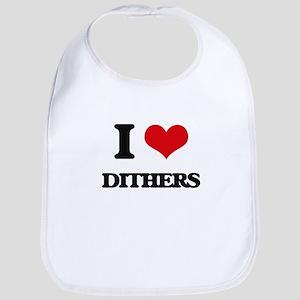 I Love Dithers Bib