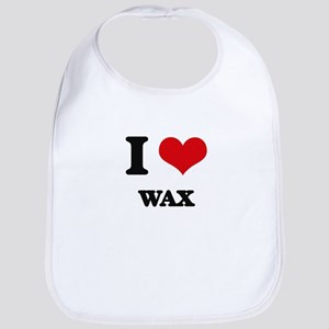 I love Wax Bib