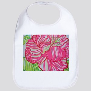 Hibiscus in Lilly Pulitzer Bib