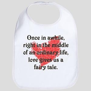 Baby Shower, Fairy Tale Love Bib