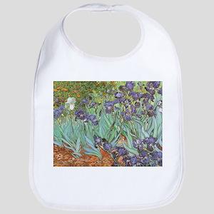 Van Gogh Irises, Vintage Post Impressionism Ar Bib