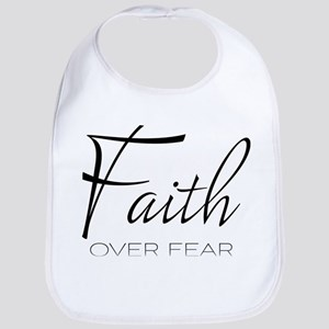 Faith over Fear Baby Bib