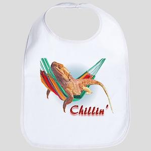 Bearded Dragon Chillin Bib