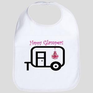 Happy Glamper! Bib