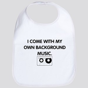 Background Music Bib