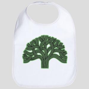 Oakland Tree Hazed Green Bib