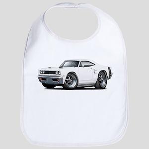 1969 Coronet White Car Bib