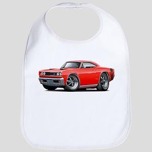 1969 Super Bee Red-Black Car Bib