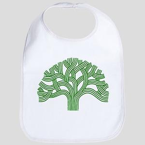 Oakland Tree Green Bib