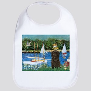 Sailboats / Affenpinscher Bib