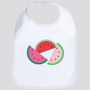 Watermelon Slices Bib