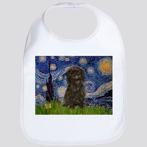 Starry Night / Affenpinscher Bib