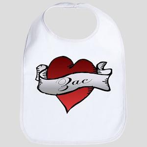 Zac Heart Tattoo Bib