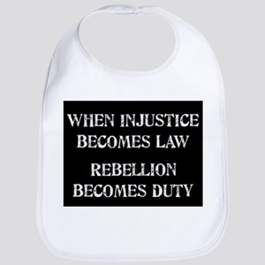 When Injustice... Bib