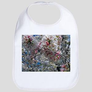 Beautiful Photograph of Summer Blossoms Bib