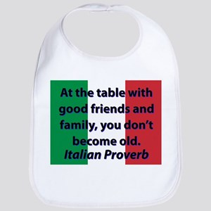 At The Table With Good Friends Baby Bib