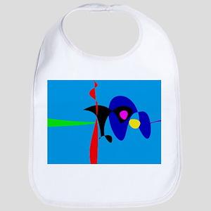 Abstract Expressionism Simple Digital Art Bib