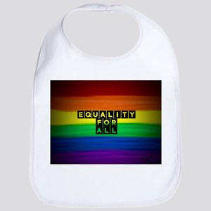Equality for all . Rainbow art Bib