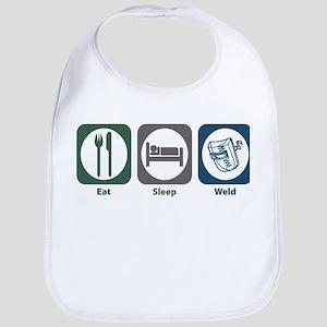 Eat Sleep Weld Bib