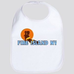 Fire Island - Sunbathing Design Bib